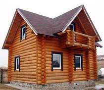Строительство домов из рубленного бревна, в г.Вологда