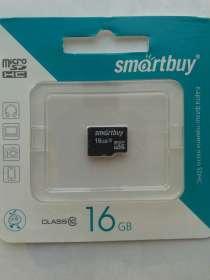Карта памяти microSD 16Gb SmartBuy, в Нижневартовске