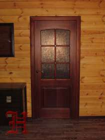 Деревянные двери из массива ясеня и дуба, в Чебоксарах