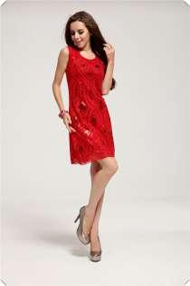 Вечернее платье красное (рассрочка без банка), в Перми