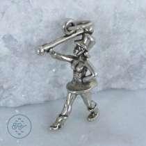 Кулон серебро 3D Бенд девушка, в г.Краматорск