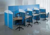 Мебель офисная. Корпусная и мягкая. Офис под ключ, в Новосибирске