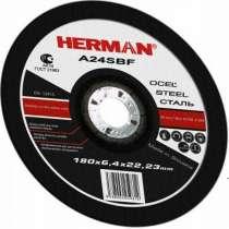 Абразивный отрезной круг HERMAN STANDART 115х1,0х22,23мм, в Дмитрове