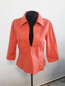 Женская рубашка цвета персик, в г.Алматы