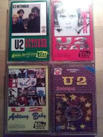 Аудиокассеты U2 - 4 штуки, в Москве