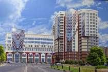 Однокомнатная квартира в новом доме в центре города, в Белгороде
