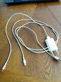 Продаю кабели для iphone lightning (2 шт) + адаптер, в Ростове-на-Дону