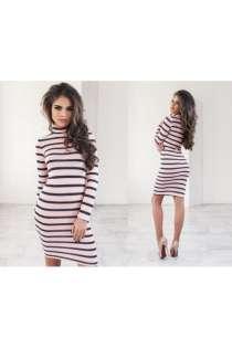 Классическое платье под горло артикул - Артикул: Ам9278-4, в Ставрополе