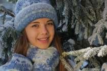 Шапки+шарф+варежки, Исландская шерсть, в Бердске