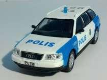 полицейские машины мира №38 AUDI A6 AVANT полиция швеции, в Липецке
