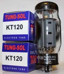 Радиолампаы KT120 Tung-Sol, в Санкт-Петербурге