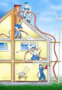Утепление домов и коттеджей эковатой в Краснодарском крае, в Краснодаре