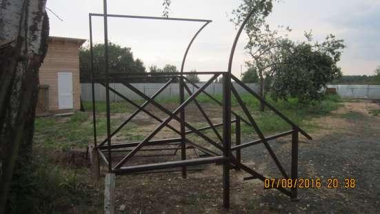 Крыльцо цельно металлическое с козырьком в г. Вологда Фото 2