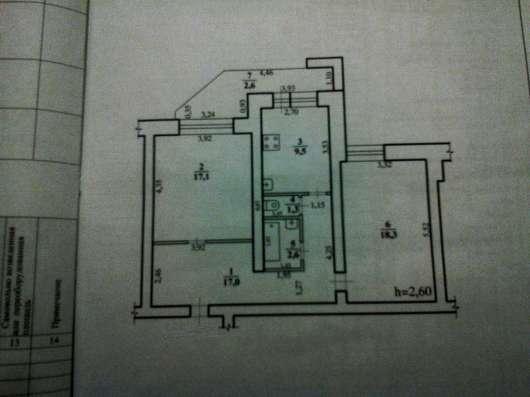 Продам двух комнатную квартиру Советская 25