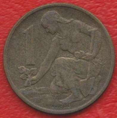 Чехословакия 1 крона 1960 г.