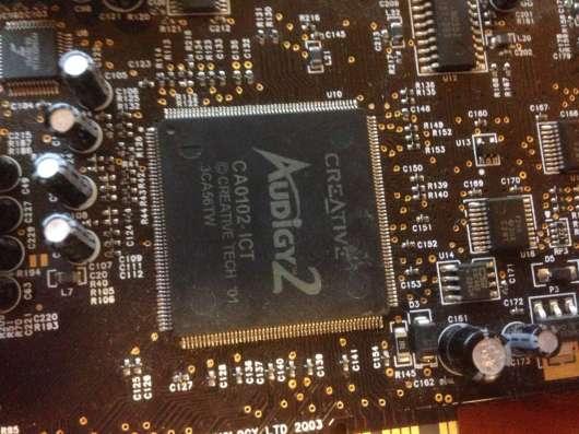 Sound Blaster Audigy 2 ZS 7.1 в Тюмени Фото 2