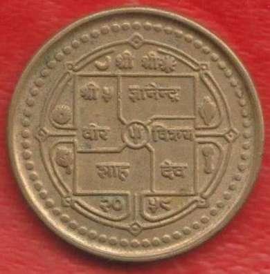 Непал 1 рупия 2001 г. в Орле Фото 1