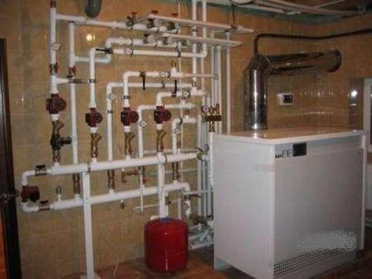 Отопление, водоснабжение, канализация, тёплый пол