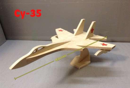 Конструктор самолета из дерева