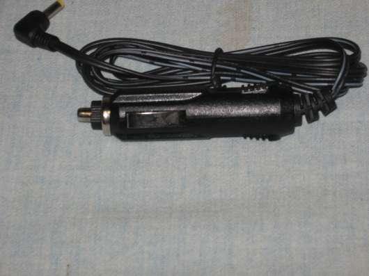 Автомобильный зарядный кабель от прикуривателя d- 3.5 мм