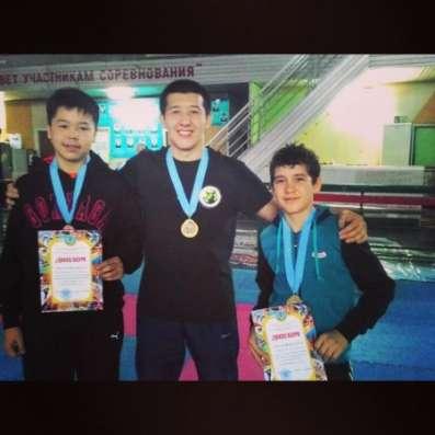 Спорт для детей и юношей в Караганде