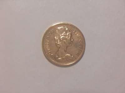 Монета 1 Новый пенни 1981 год Великобритания в Москве Фото 1