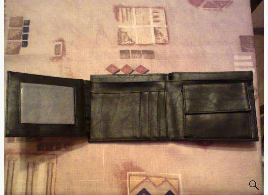 портмоне черное