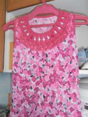 платье-туника  7-9лет
