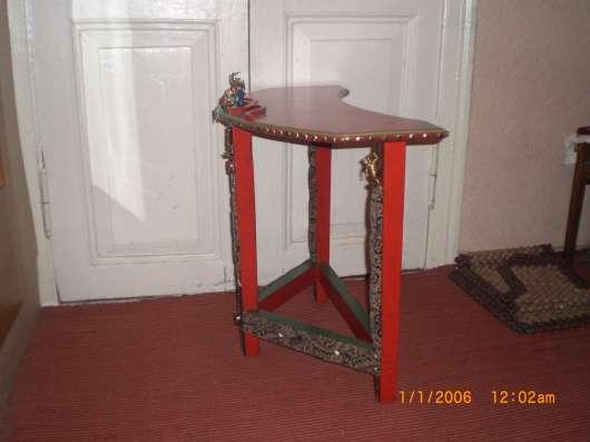 Детская мебель стул и стол