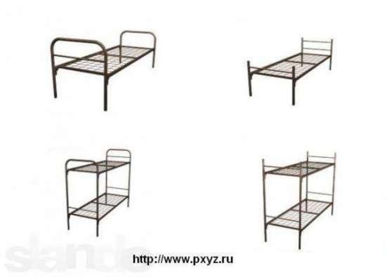 Металлические кровати с ДСП спинками для больниц, кровати для гостиниц, кровати для студентов, кровати оптом от производителя. Оптом