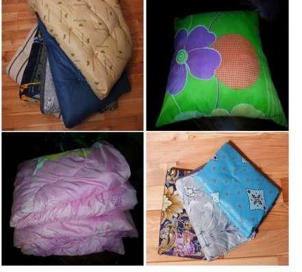 Постельное белье, подушка, матрац, одеяло. Доставка