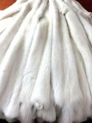 Шкурки белой норки