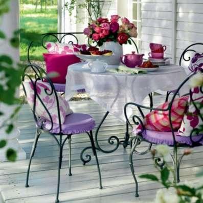 Кованая садовая мебель в Тюмени Фото 2