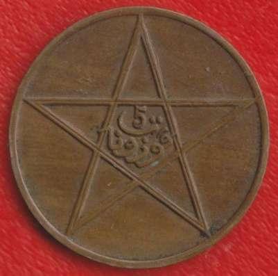 Марокко 5 мазуна 1912 г.