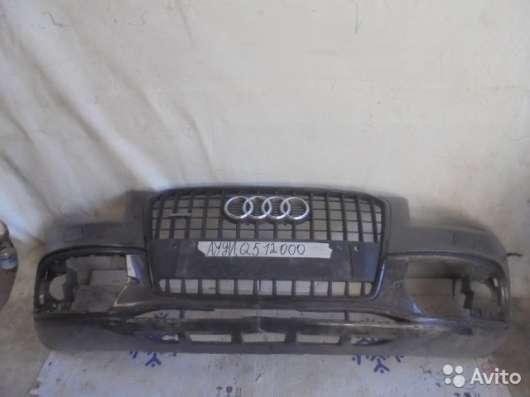 Бампер передний на Audi Q5