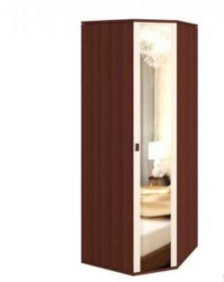 """Шкаф """"Оскар"""" угловой с зеркалом 230 см"""