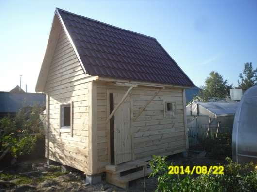 Строим дома, бани собственное производство