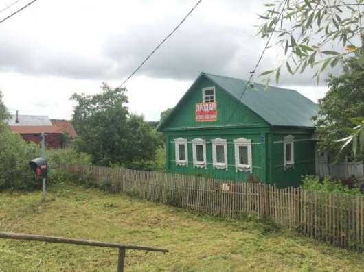 Продается хороший, крепкий деревянный дом для круглогодичного проживания в живописной деревне Бражниково, Можайский район 130 км от МКАД по Минскому шоссе. Фото 1
