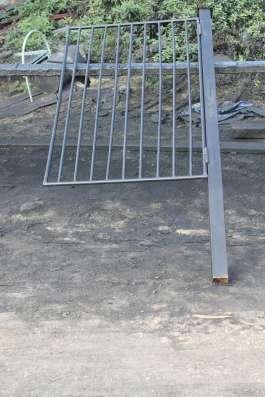 Ворота и калитки металические