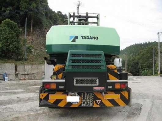 Короткобазный кран  TADANO TR250M6