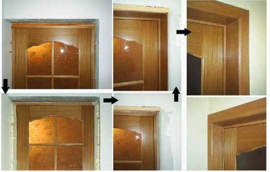 Монтаж межкомнатных дверей, групп в Екатеринбурге Фото 1
