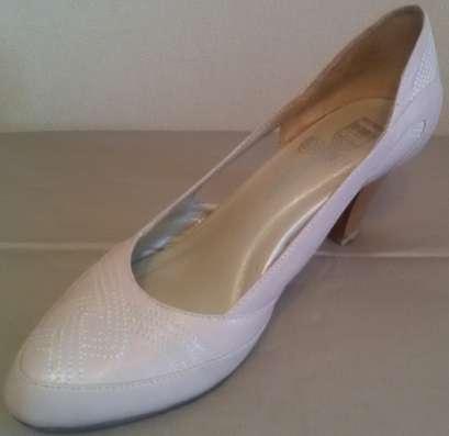 Туфли-босоножки, натуральная кожа, р-37(38)