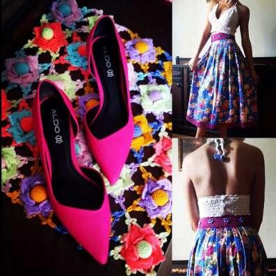 Великолепная юбка и вязаный топ