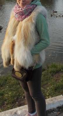 Меховой жилет из лисы в Москве Фото 1