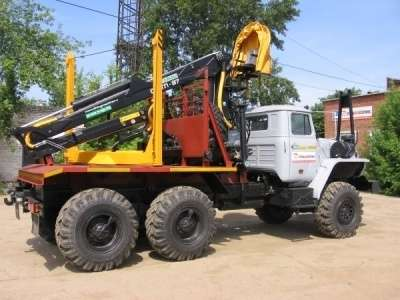 грузовой автомобиль УРАЛ 55571