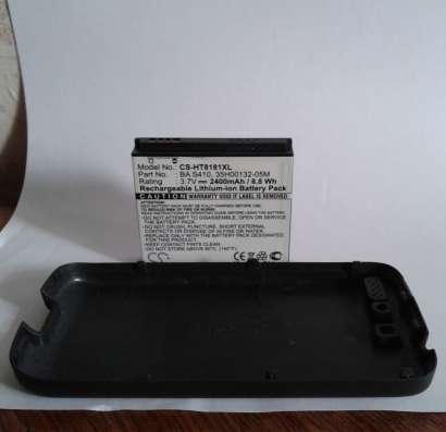 Аккумулятор усиленный для НТС Desire A8181 2400мА*ч