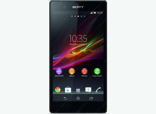 Смартфон sony xperia z1 c6903 16 гб черный