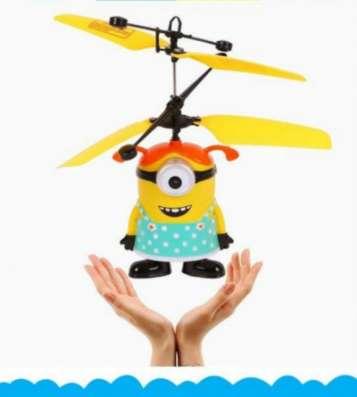 Занимательная игрушка Летающий Миньон в Санкт-Петербурге Фото 2