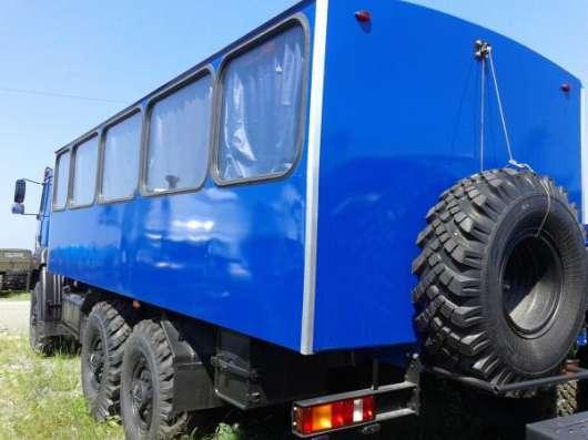 Заводские вахтовые автобусы Урал 3255-3013-79 М-28, без пробега 2016 г.в. в Миассе Фото 1