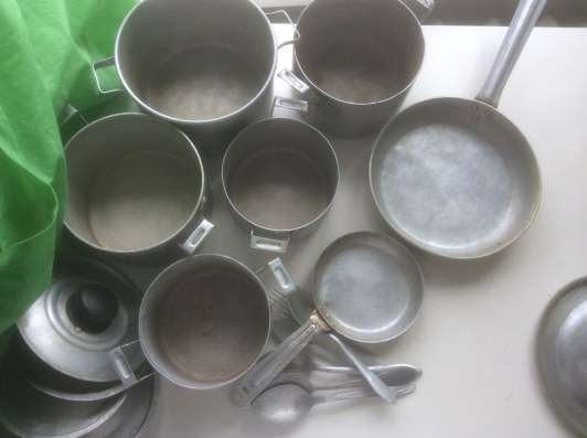 Алюминиевая посуда винтаж